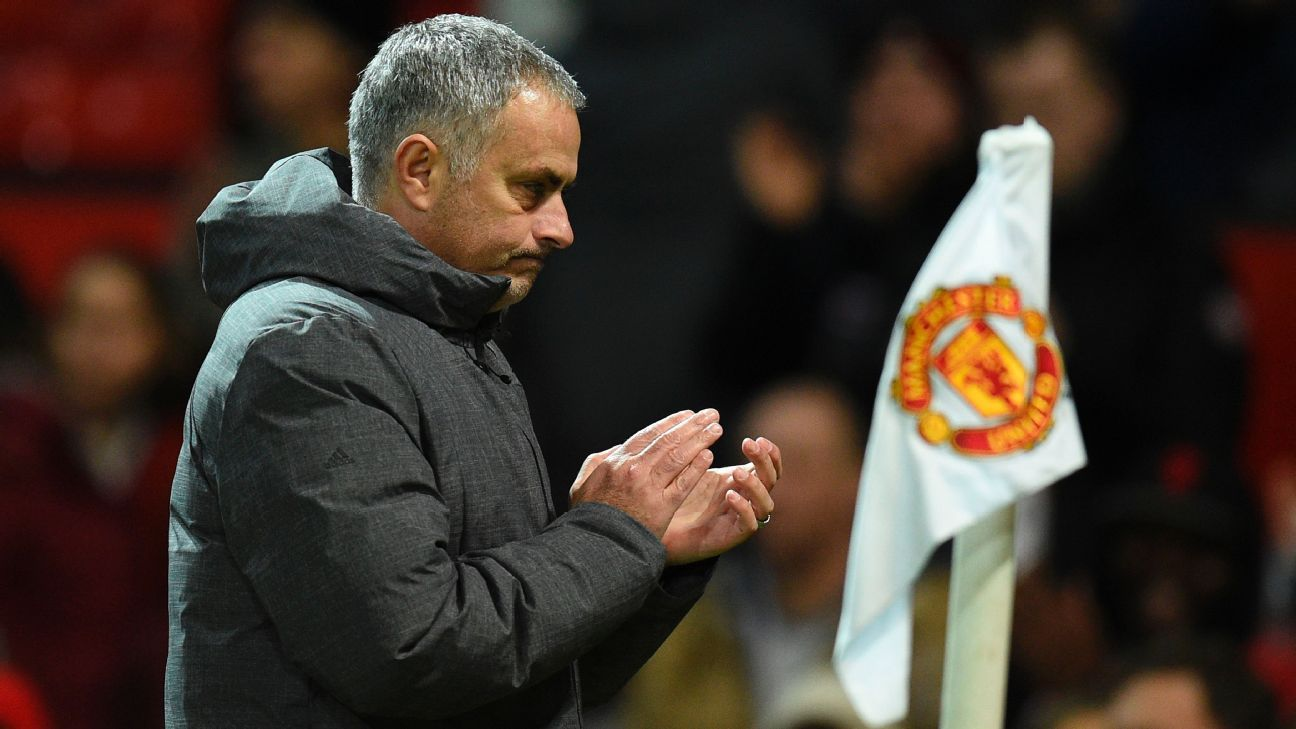 Manchester United manager Jose Mourinho has an exemplary record at Old Trafford