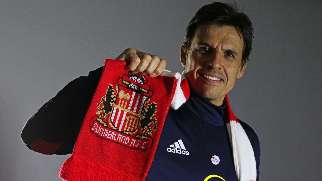 Chris Coleman was appointed as Sunderland manager after signing a two-and-a-half-year contract