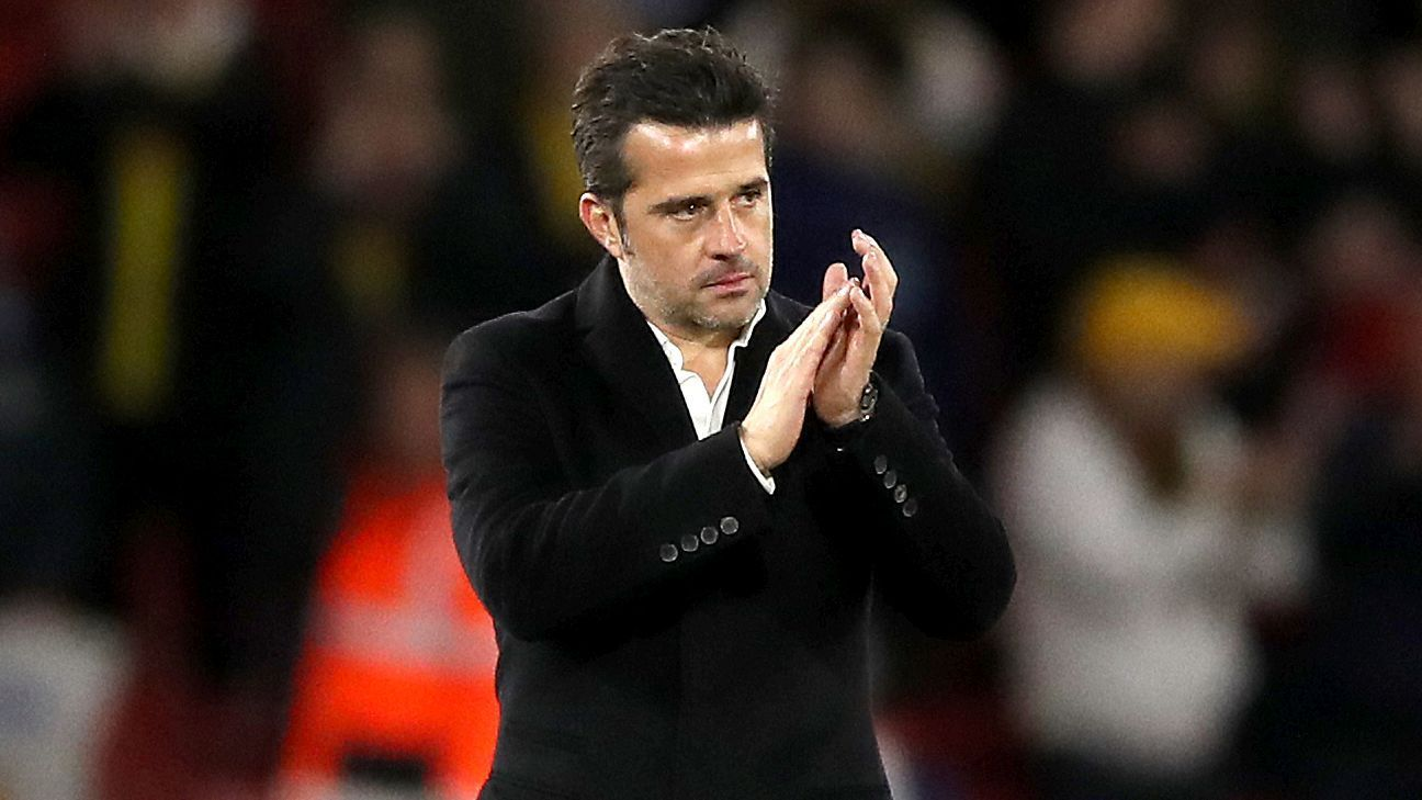 Marco Silva has been courted by Everton since 2017.