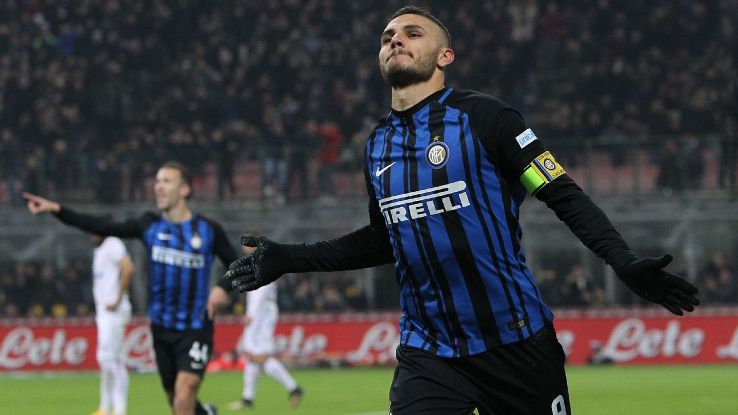 Mauro Icardi saved the day for Inter Milan on Sunday.