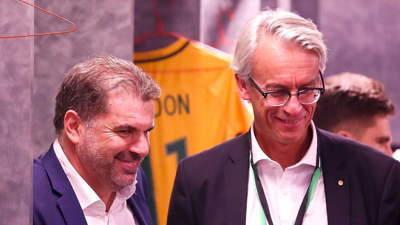 Ange Postecoglou & David Gallop