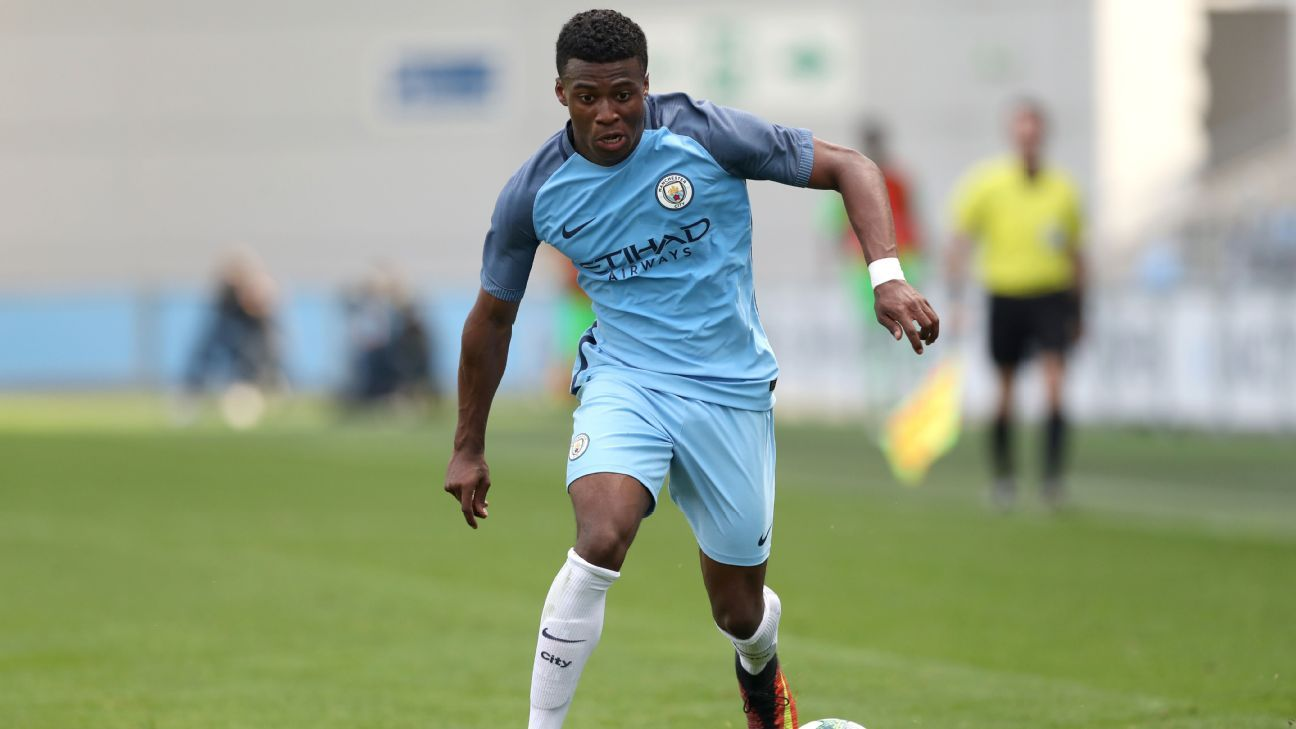 Manchester City youngster Javairo Dilrosun a target for big clubs - sources