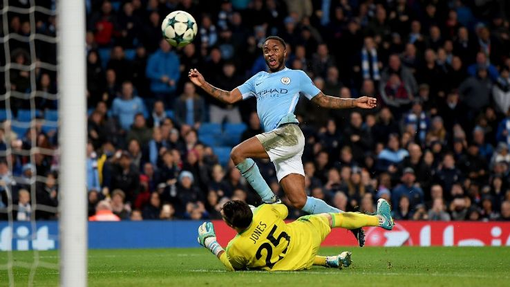 Raheem Sterling's 11th goal of the season fired City to victory.