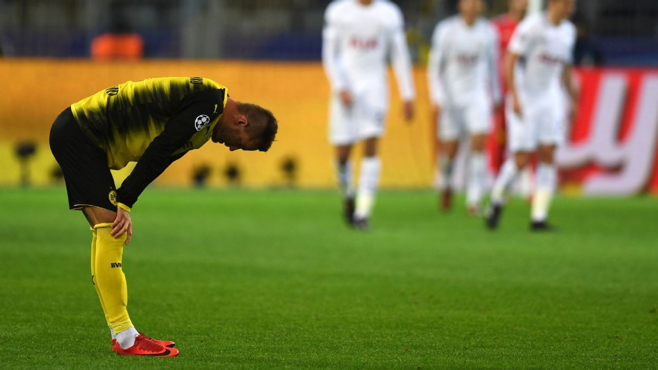 Dortmund woe vs Spurs 171121