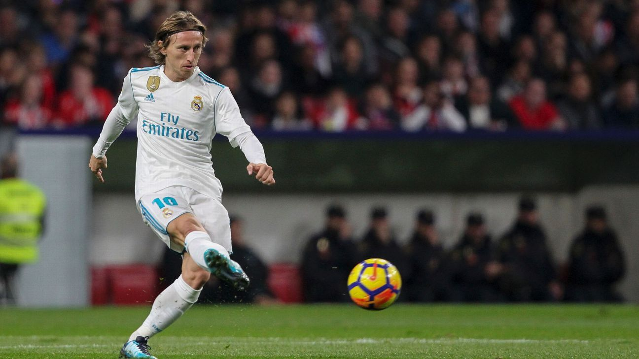 Luka Modric has been with Real Madrid since 2012.