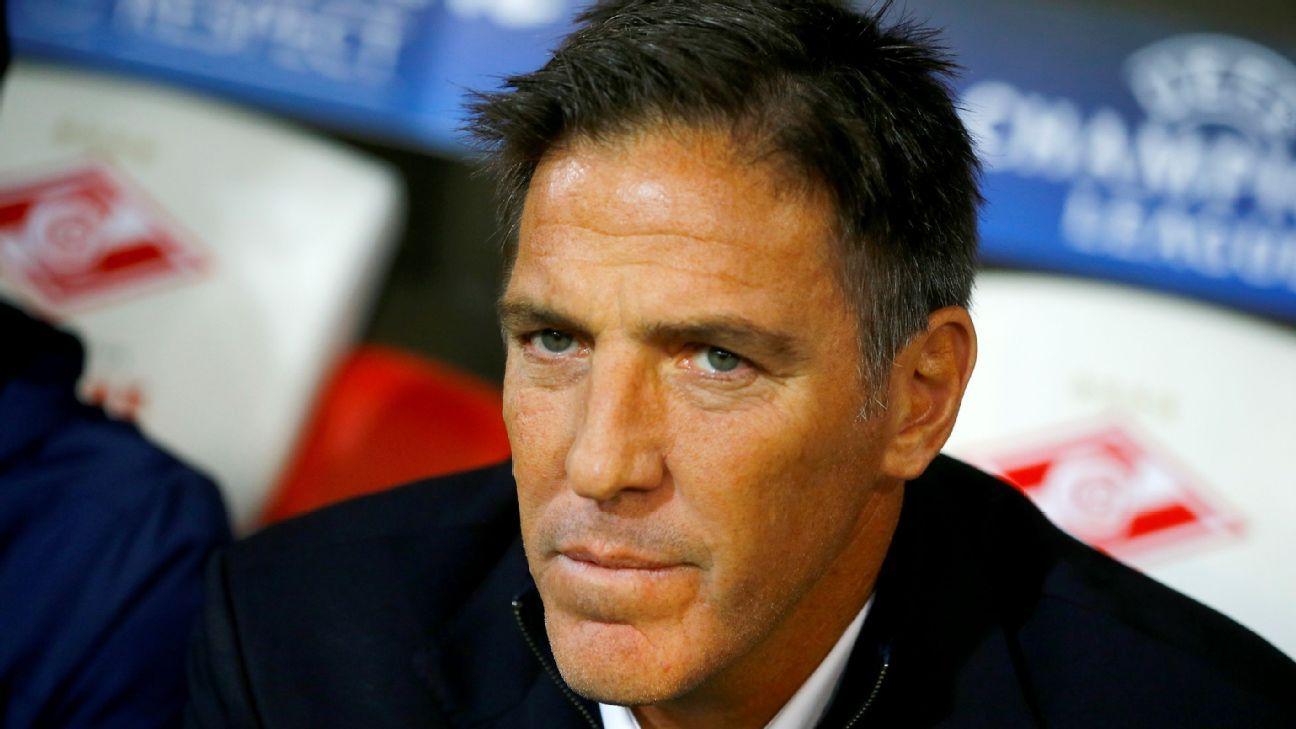 Sevilla coach Eduardo Berizzo