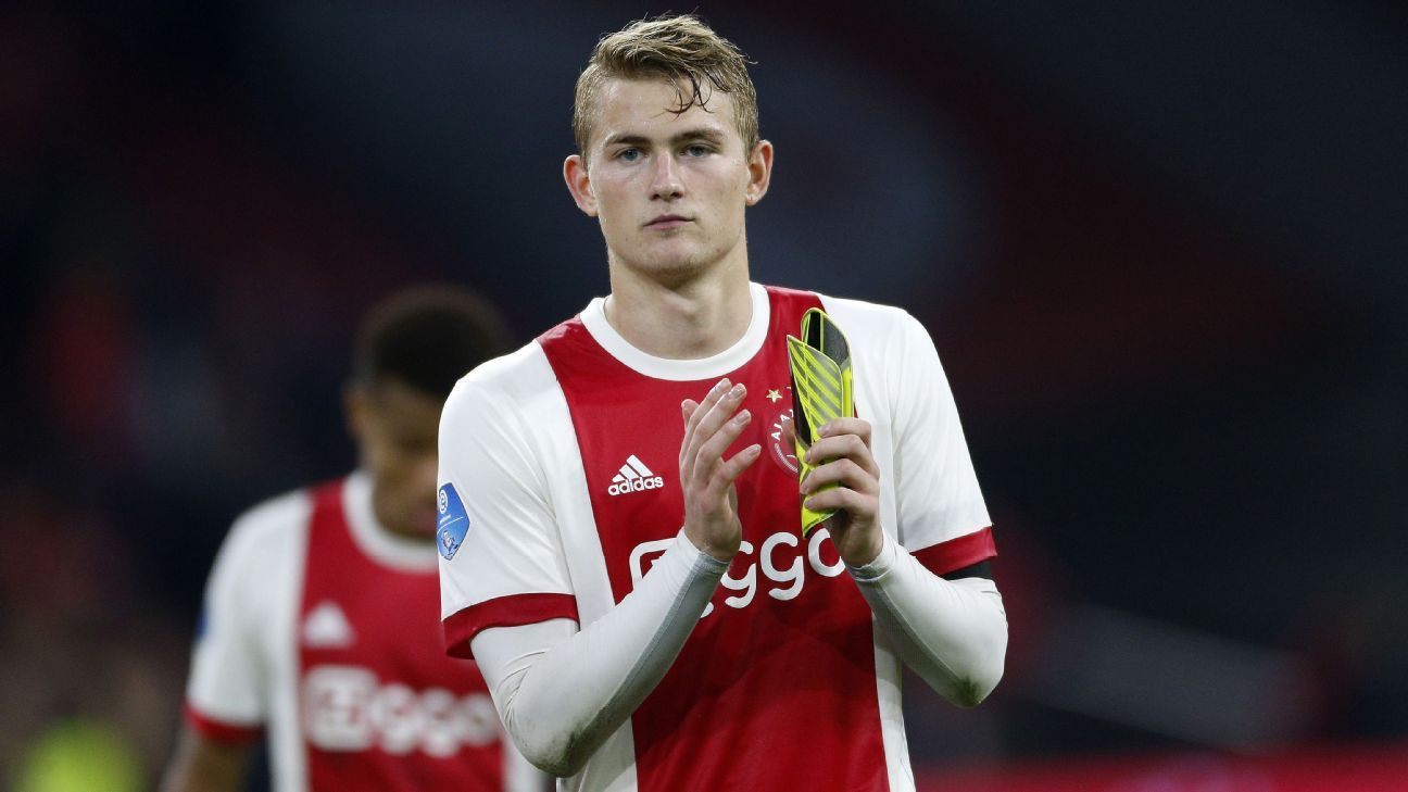 Ajax's Matthijs de Ligt could be the replacement for Vincent Kompany at Man City.