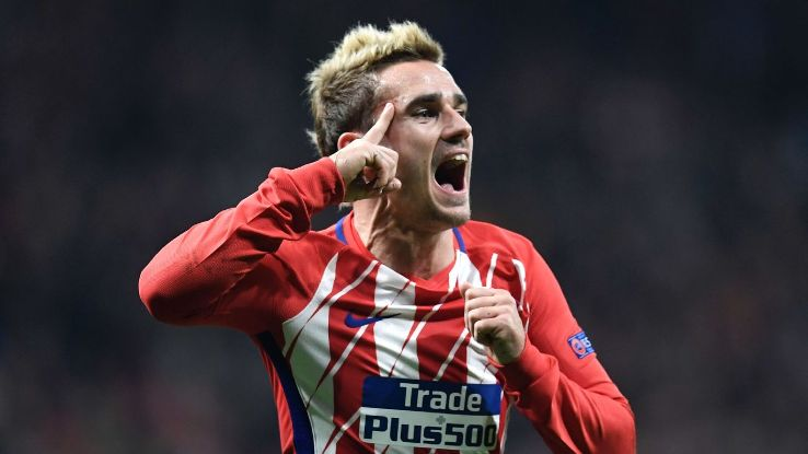 Antoine Griezmann scored a stunning goal for Atletico Madrid.