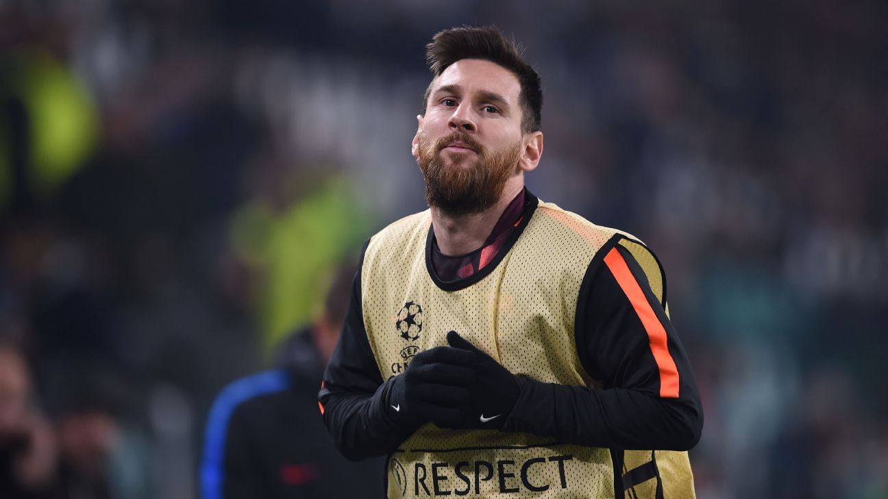 Messi substitute vs Juve 171122
