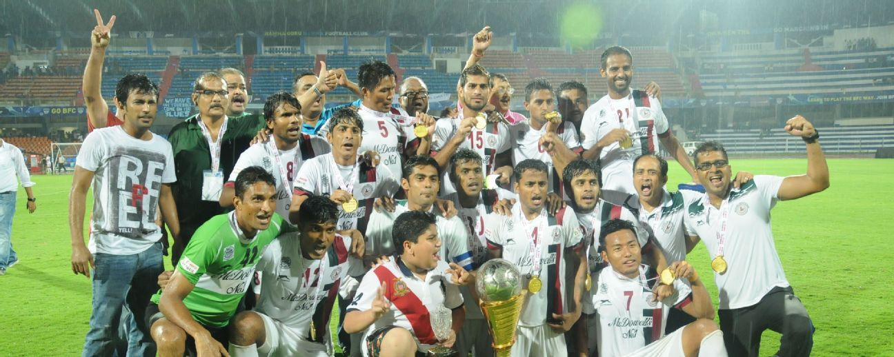 Bagan have won a total of four national titles till date.