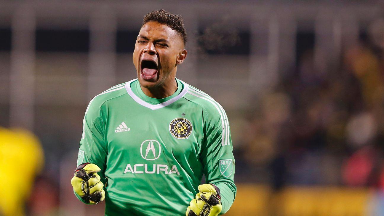 Columbus Crew SC turns down Bristol City's offer for Zack Steffen
