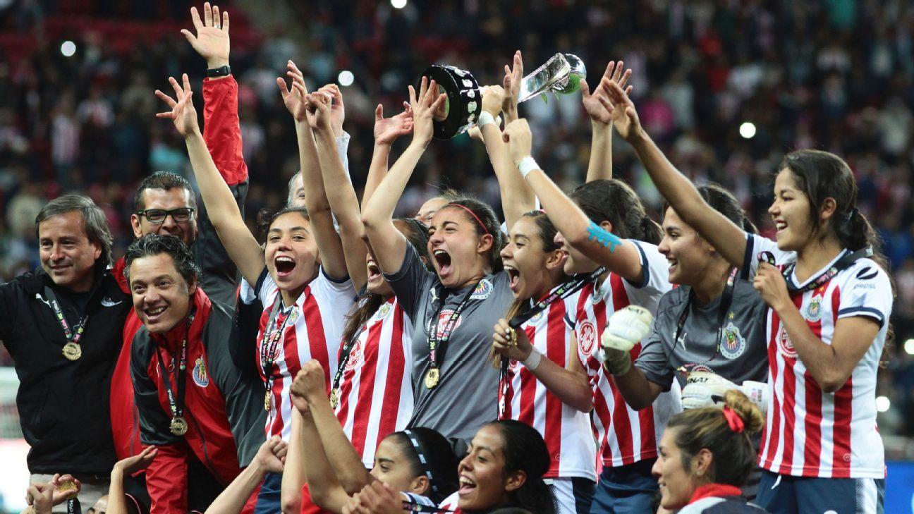 Chivas women's title win