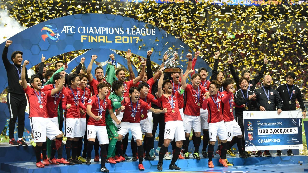 Urawa Red Diamonds Champions League win