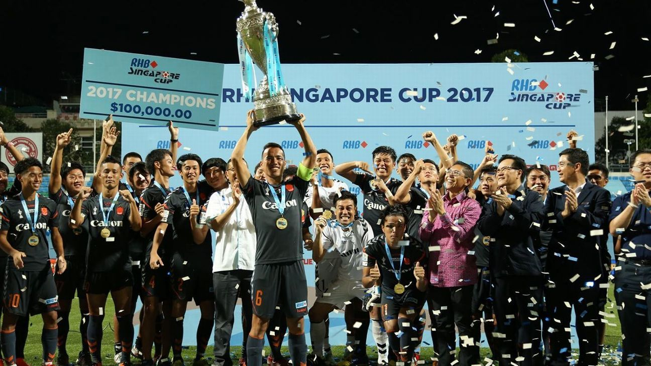 Albirex win 2017 Singapore Cup