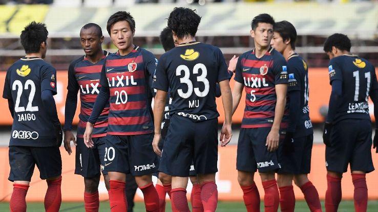 Kashima Antlers dejected