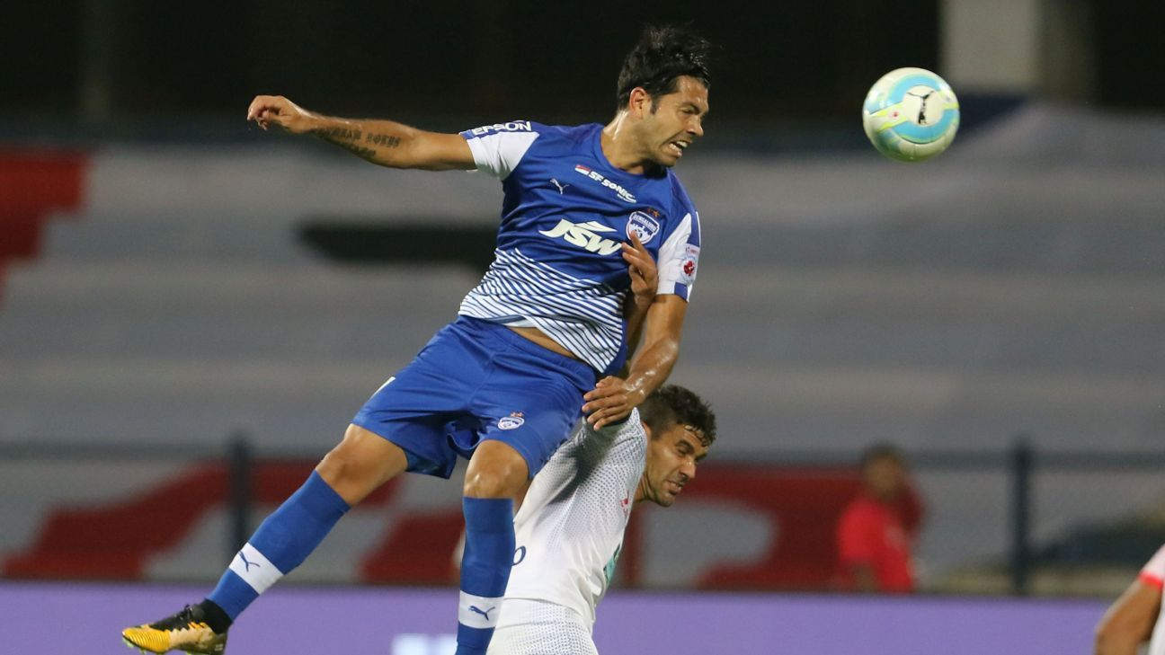 Miku was the top-scorer for Bengaluru FC this season, with 15 goals.