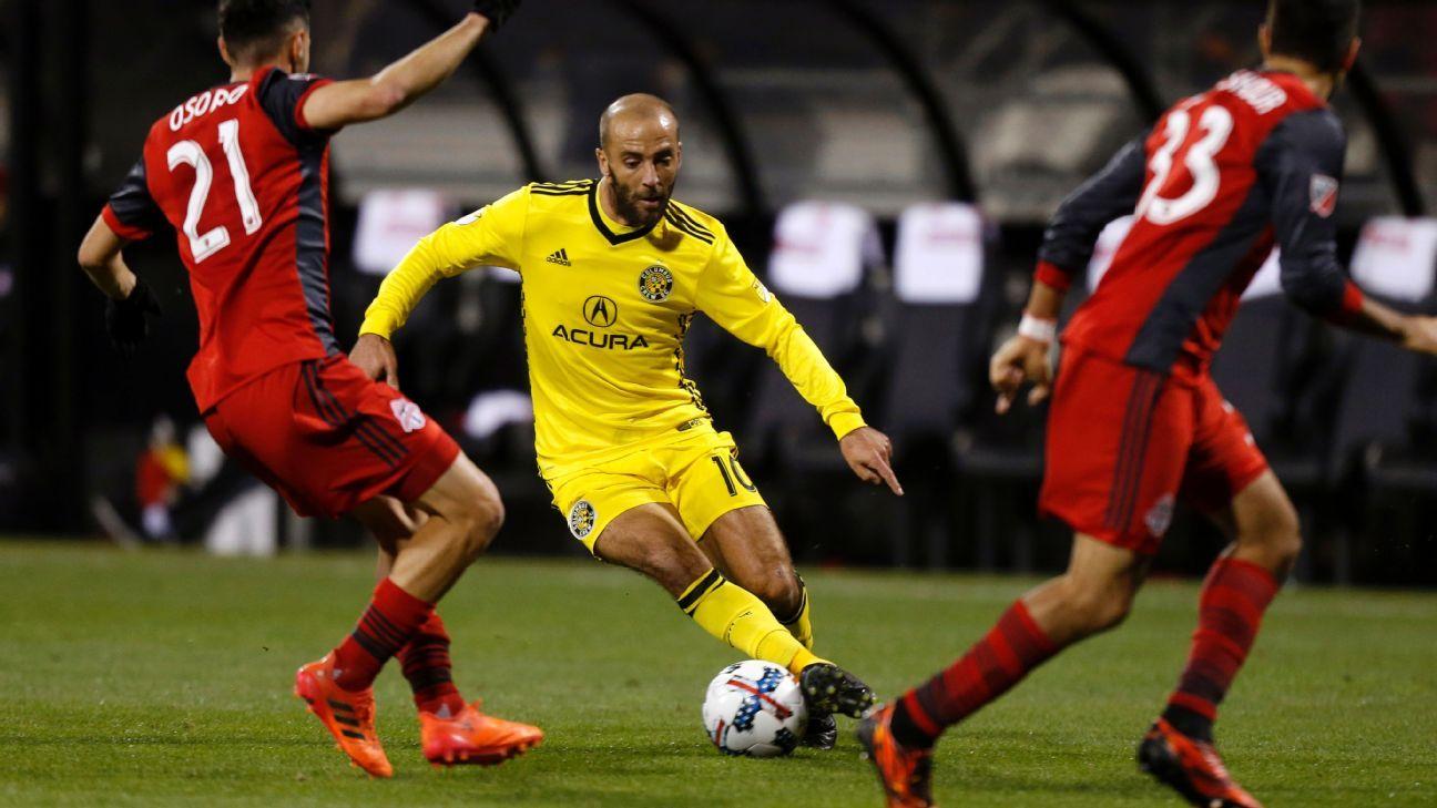MLS Cup win would put Higuain firmly alongside Schelotto in Crew lore