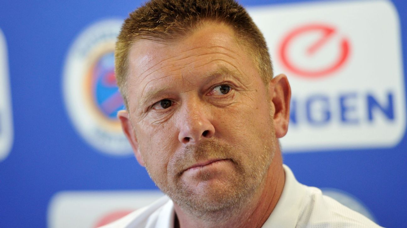 Eric Tinkler, coach of SuperSport United