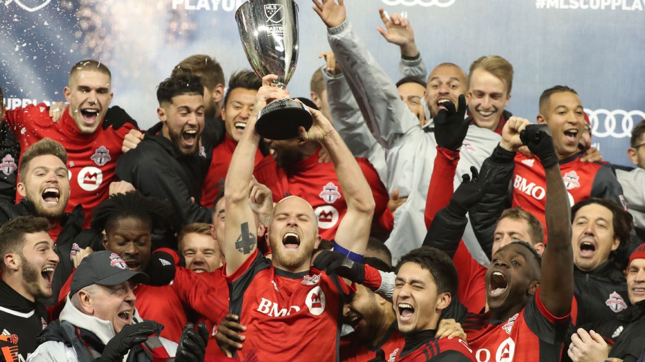 Toronto won last years MLS Cup over the Seattle Sounders 2-0.