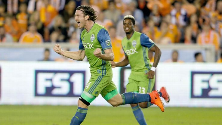 Gustav Svensson has enjoyed a seamless transition since joining the Sounders in January.