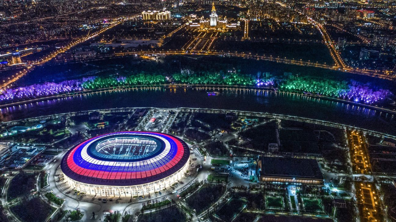 Luzhniki Stadium, World Cup 2018 venue