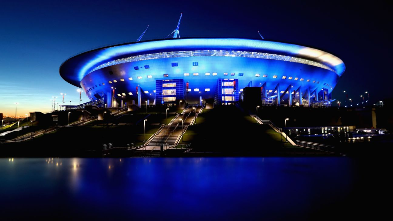St Petersburg Stadium, World Cup 2018 venue