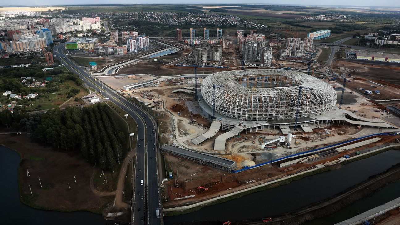 Mordovia Arena, World Cup 2018 venue