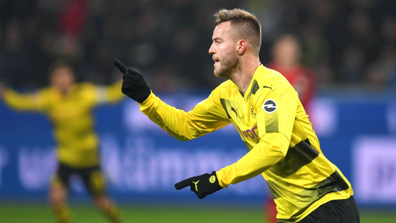 Andriy Yarmolenko scored a superb goal against Tottenham in the Champions League for Borussia Dortmund last season.