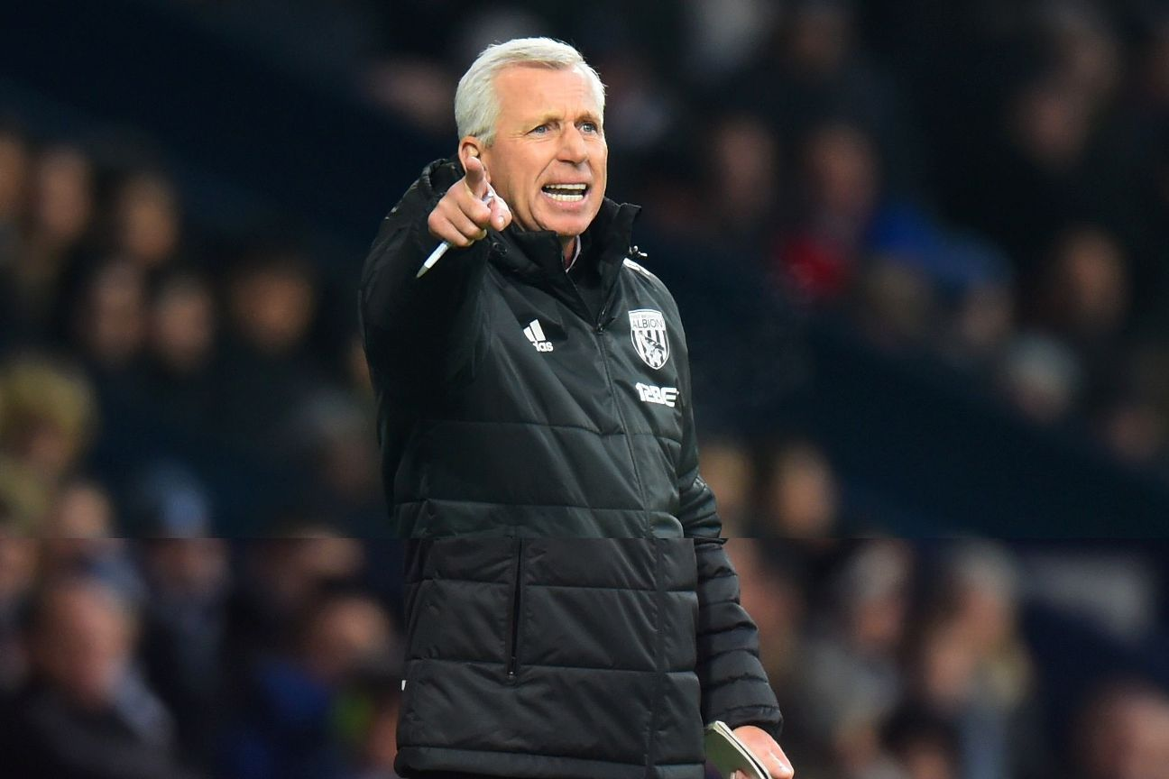 Alan Pardew has won just one game since becoming West Brom boss.