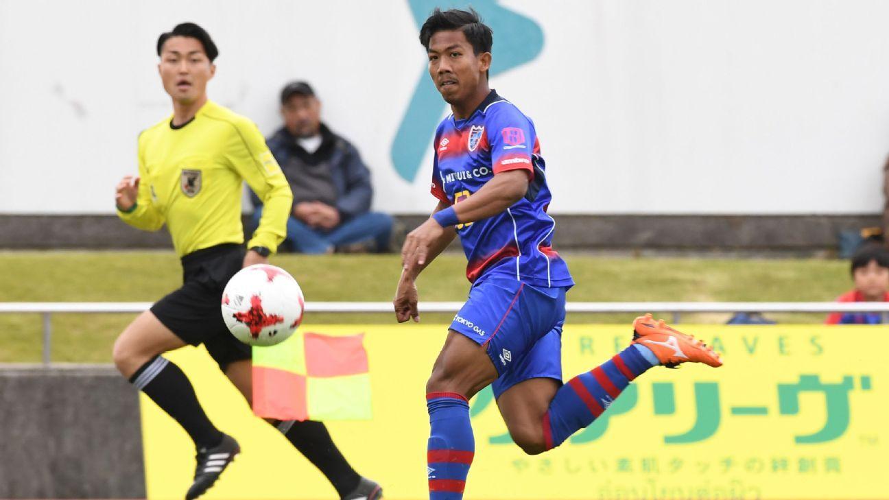 Jakkit Wachpirom of FC Tokyo
