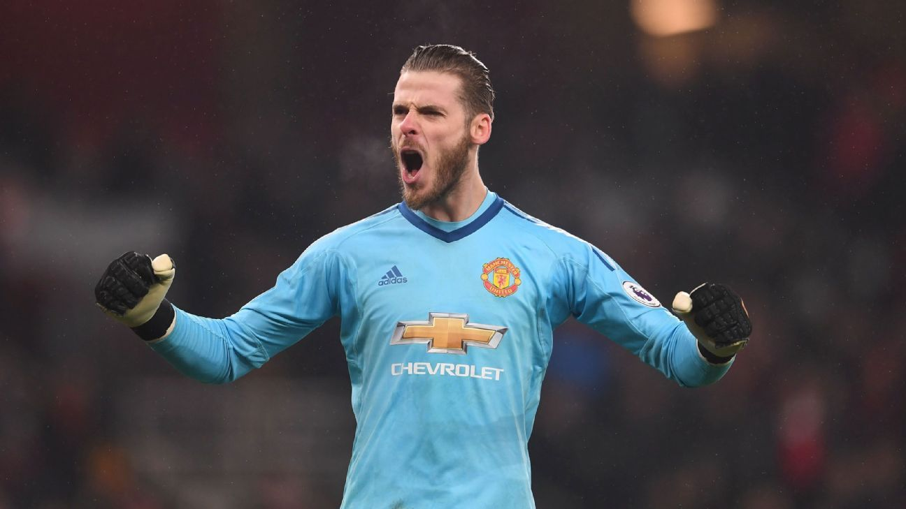 David De Gea has regularly referenced the support he gets from Manchester United fans.