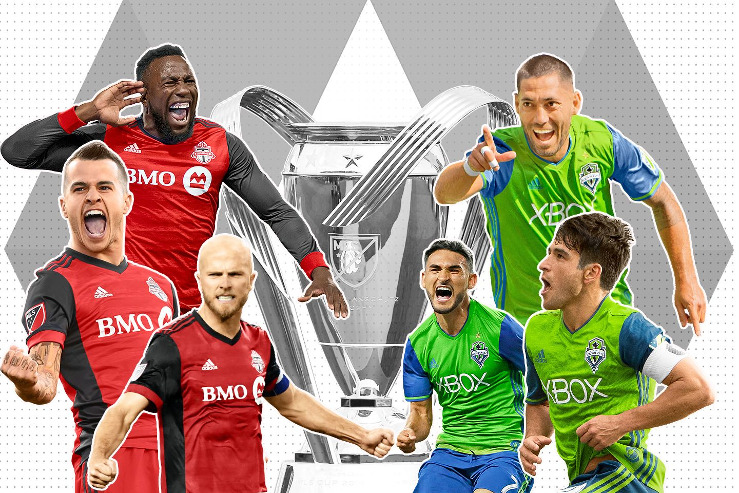 Toronto-Seattle a rematch of evolved teams fighting for the same prize