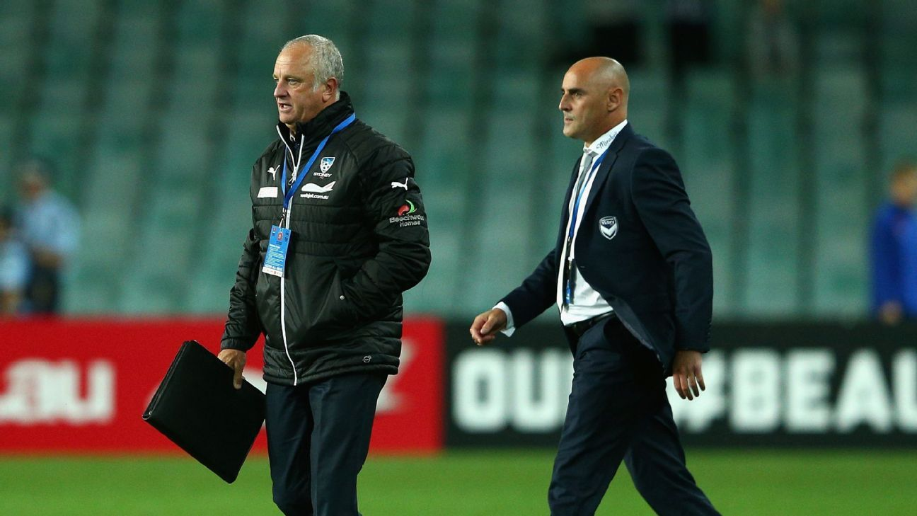 Graham Arnold & Kevin Muscat