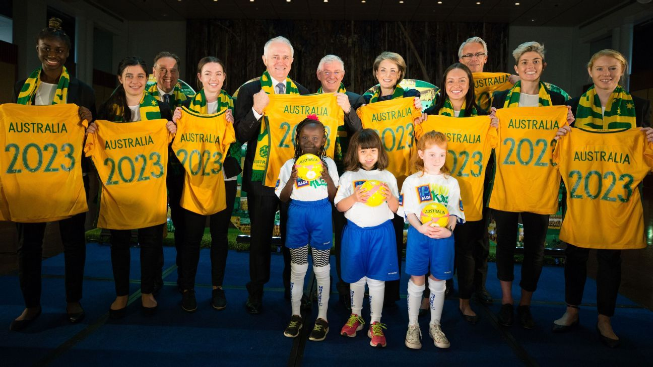 Australia's Women's World Cup bid