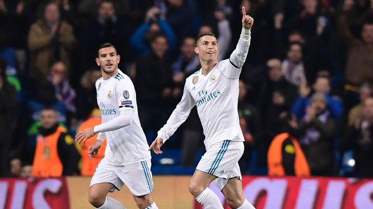 With his goal, Cristiano Ronaldo became the first player to score in all six games of a Champions League group stage.