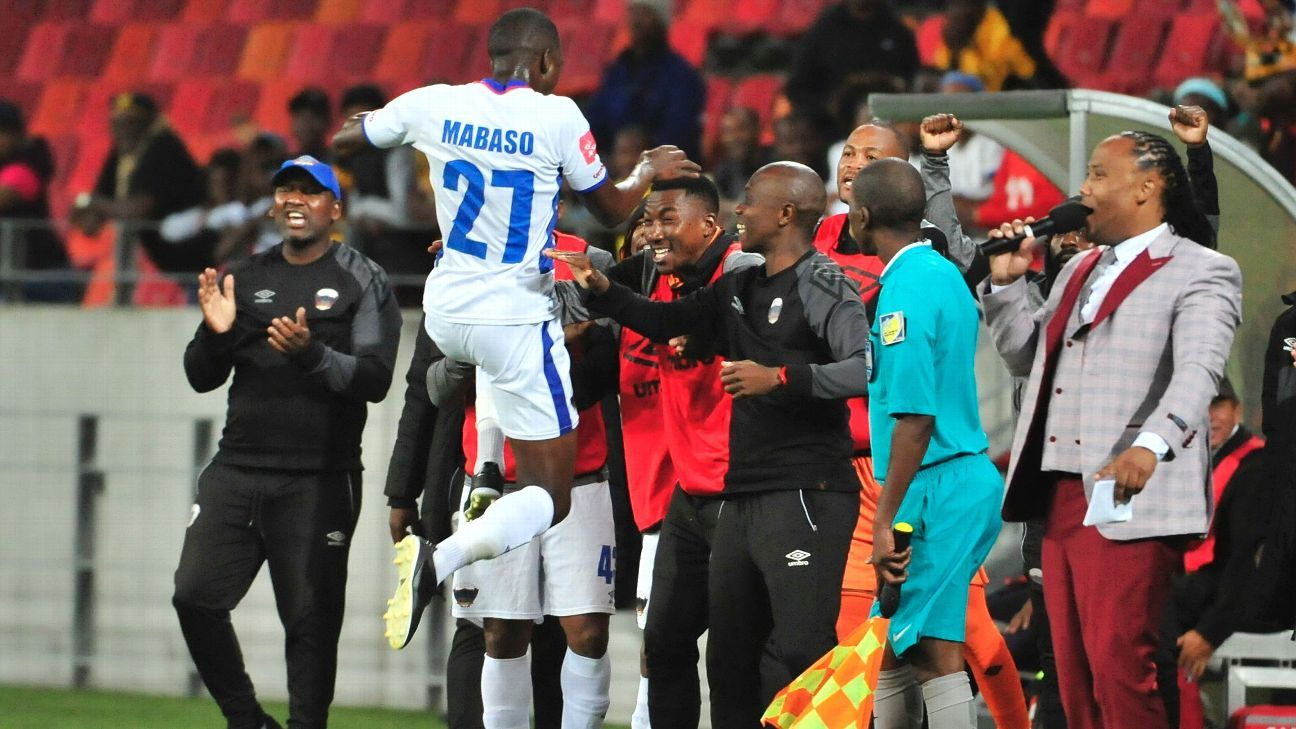 Abel Mabaso of Chippa United