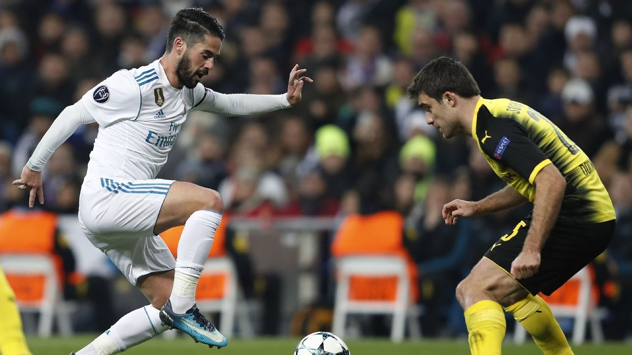 Isco action vs Dortmund 171206
