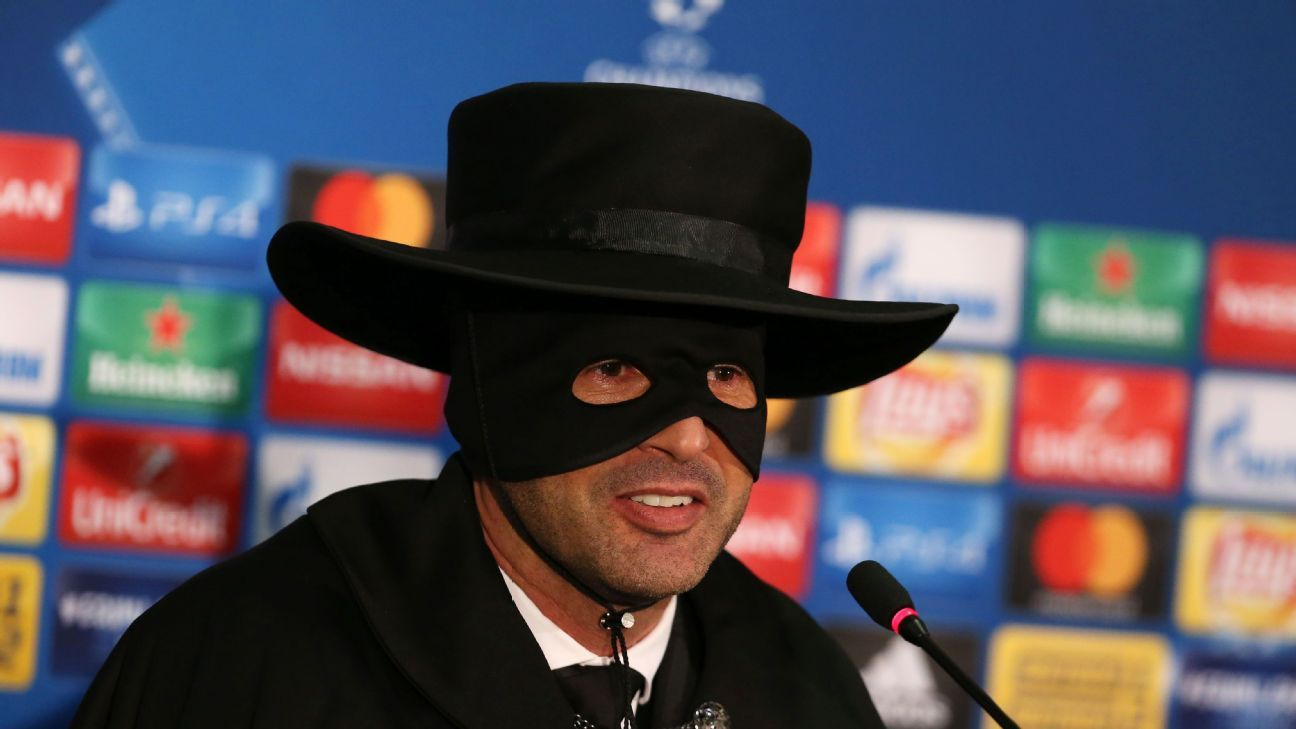 Shakhtar boss as Zorro post Man City 171206