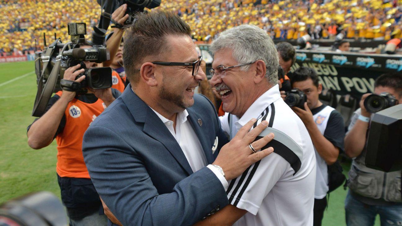 Antonio Mohamed & Ricardo Ferretti