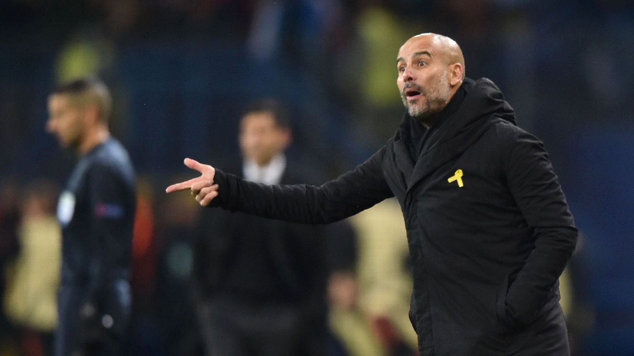 Pep Guardiola has pushed all of the right buttons so far for Man City.