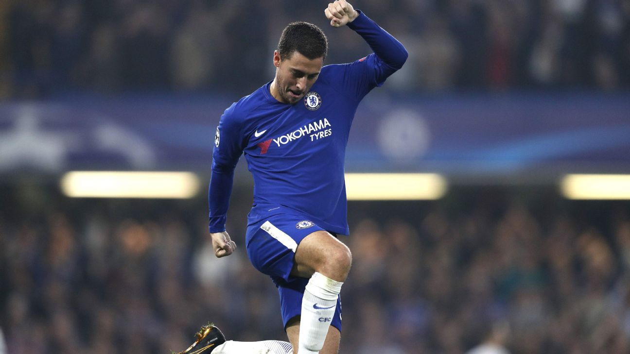Eden Hazard and Chelsea outplayed Roma for stretches during their two meetings in October.