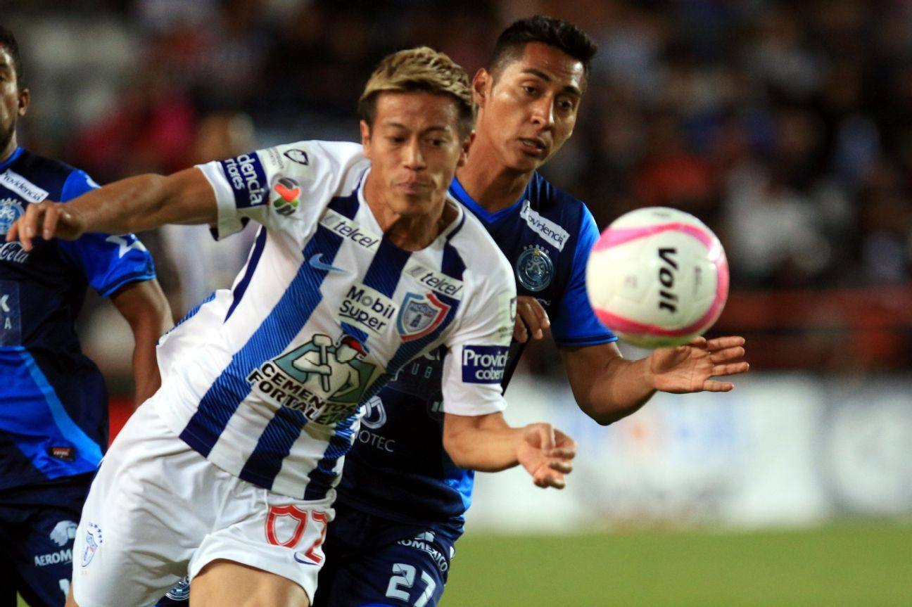 Not a typical Pachuca signing, Keisuke Honda has been a role model for young players to emulate.
