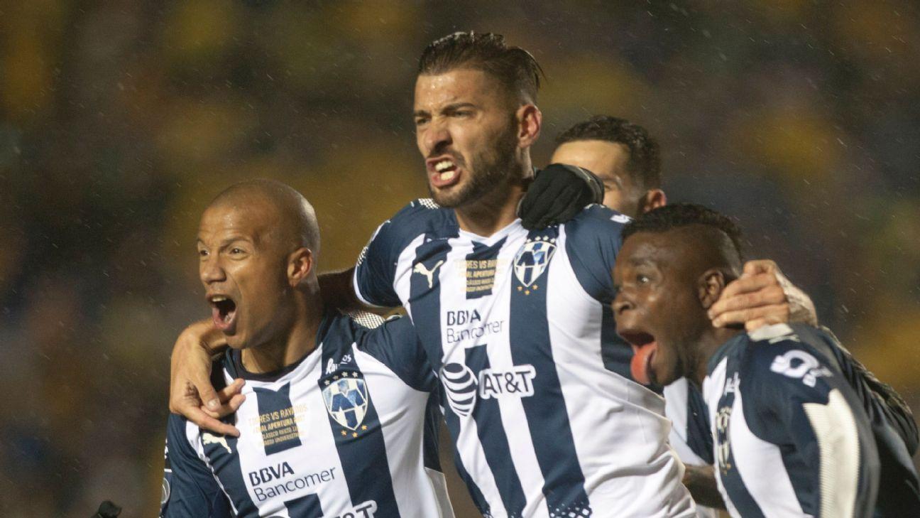 Monterrey celeb vs Tigres first leg 171207