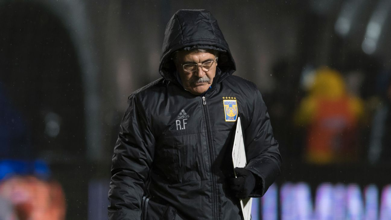 Tigres coach Ferretti tried to put a positive spin on a night of missed chances by his team.