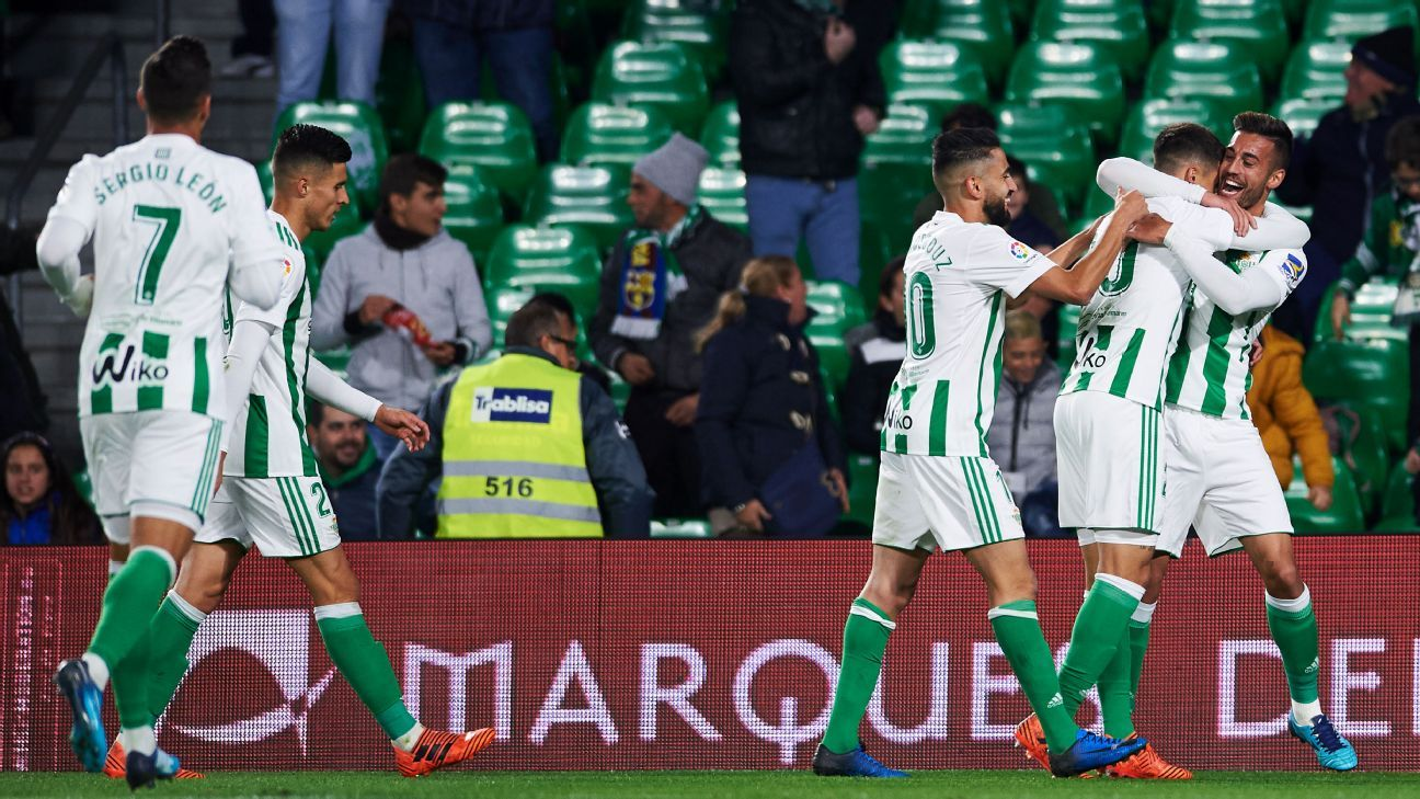 His Betis side are comfortably mid-table this season but are winless in their last five league games.