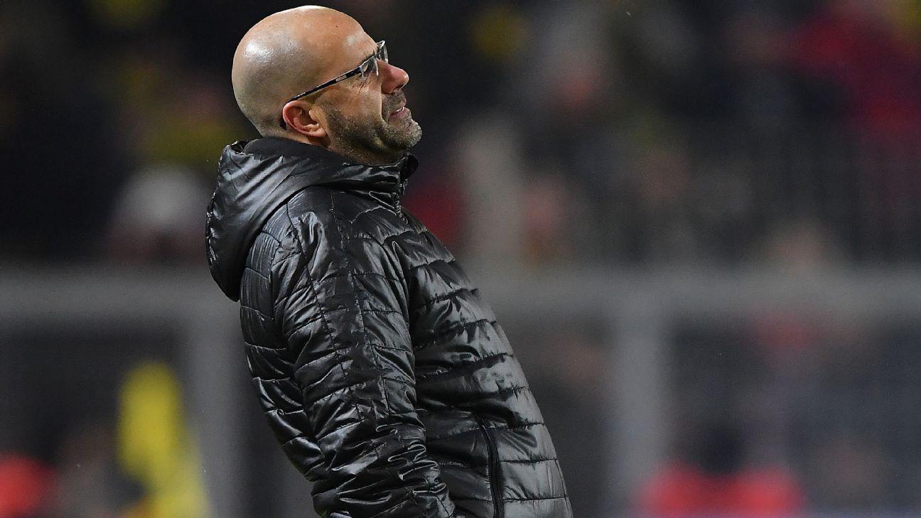 Chelsea Slavia Detail: Borussia Dortmund Sack Coach Peter Bosz; Peter Stoger