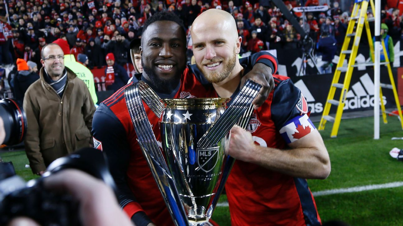 Two months after their heartbreak with the U.S., Jozy Altidore and Michael Bradley lifted MLS Cup together with Toronto FC.