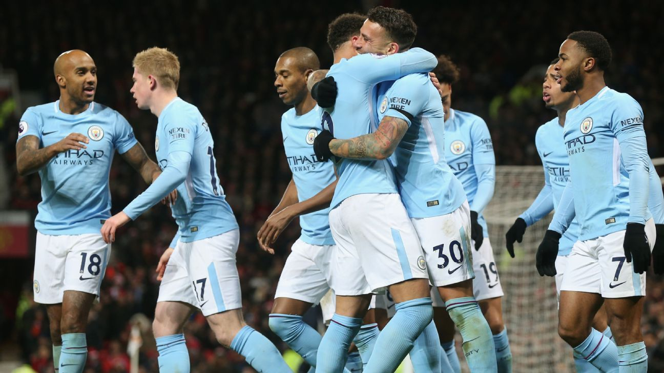 Manchester City set a Premier League record by winning 16 consecutive games.