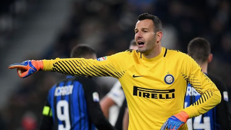 Samir Handanovic continues to make a claim as Serie A's top goalkeeper.