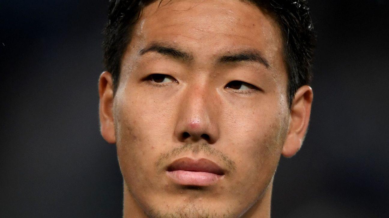 Japan defender Gen Shoji